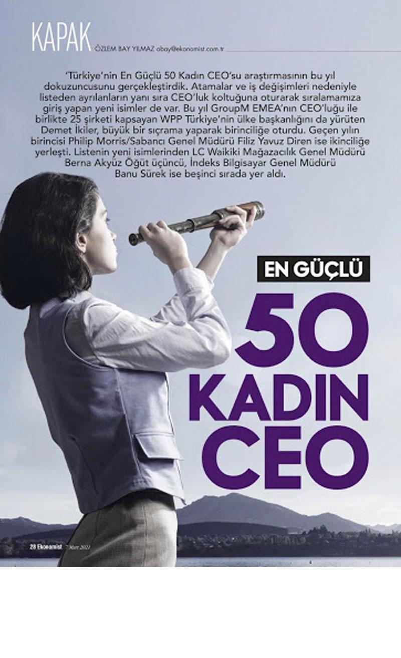 50 Güçlü Kadın CEO Basın