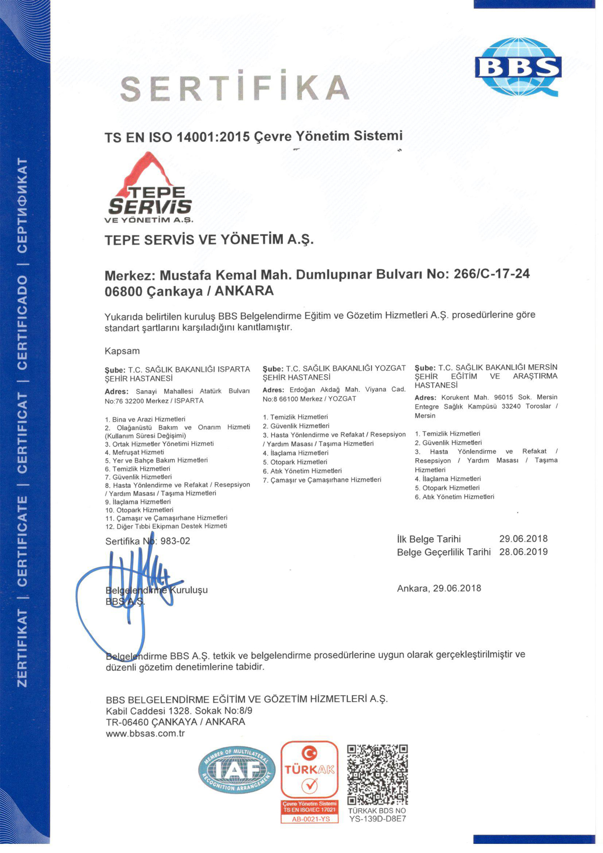 PPP - İSO 14001