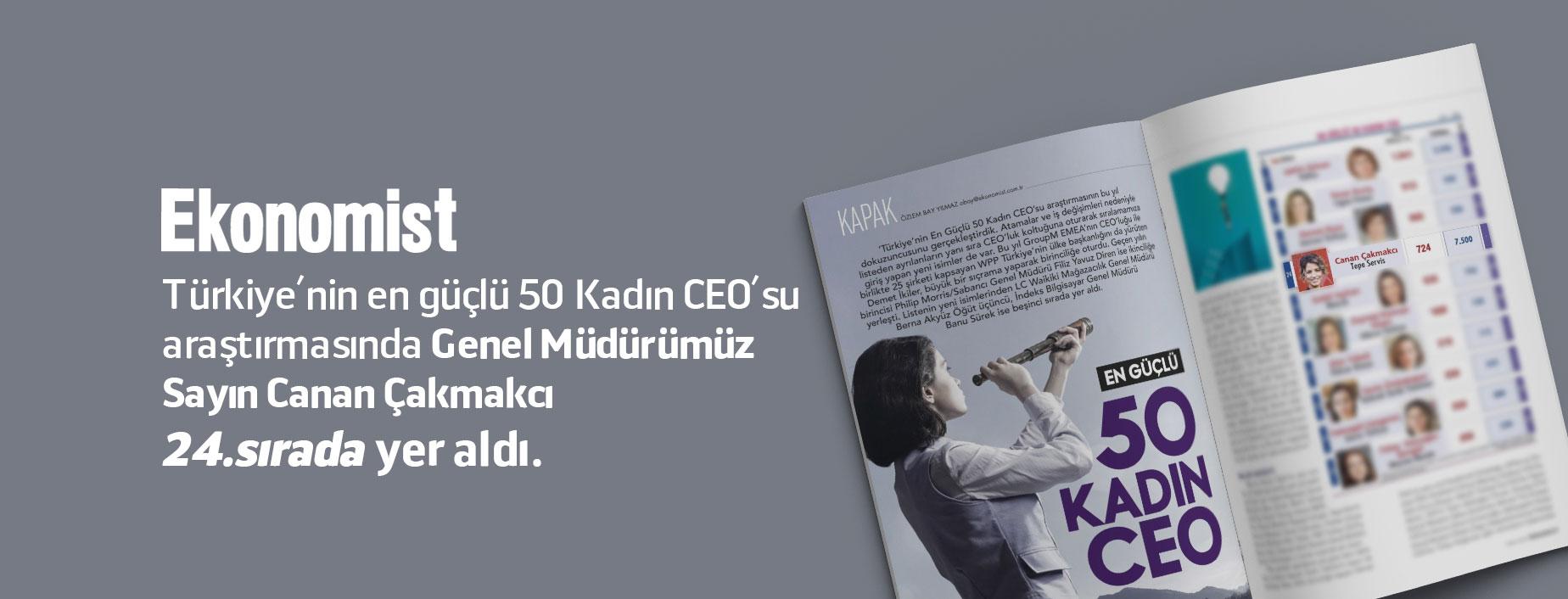50 Güçlü kadın