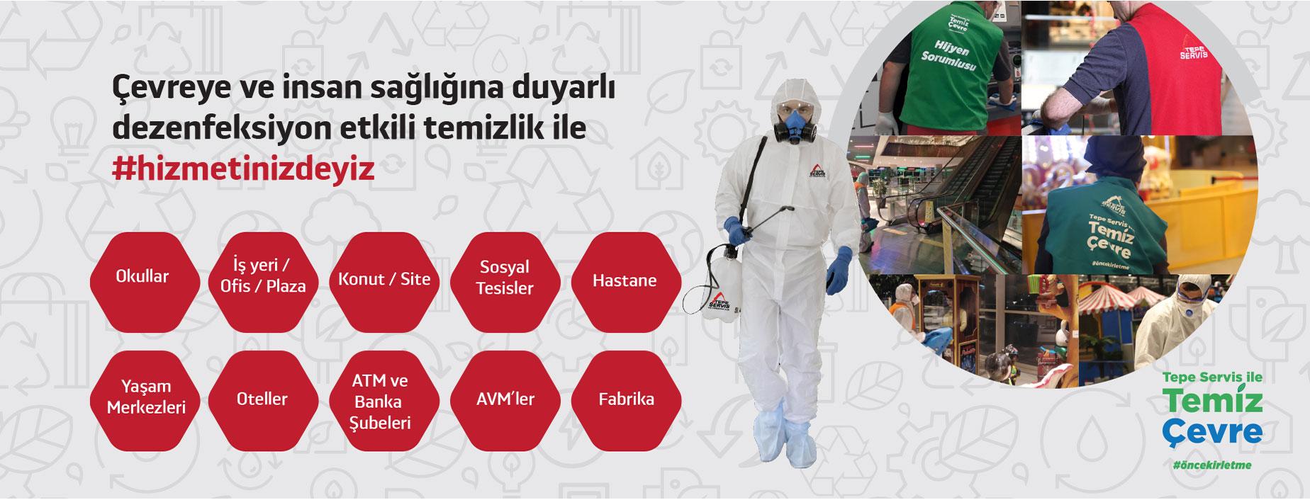 Dezenfektan etkili kimyasalar ile virüs ve salgınlardan korunun.
