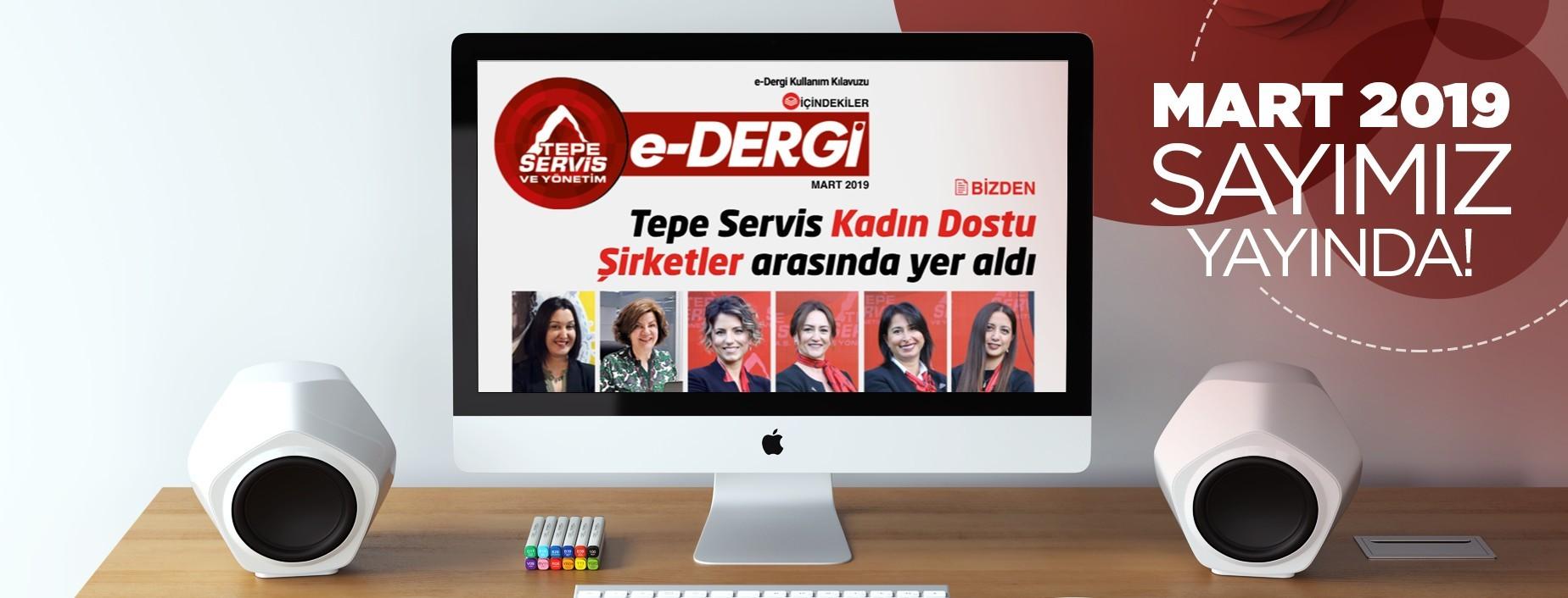 E-Dergi Mart 2019