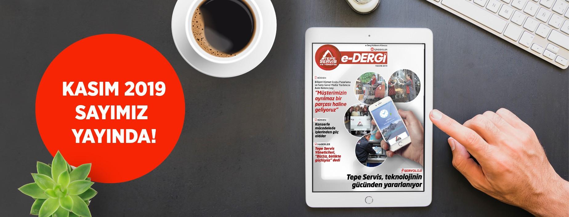 E-Dergi Temmuz 2019 Sayı 08