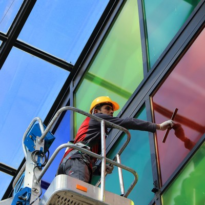 Window / Exterior / Construction Cleaning
